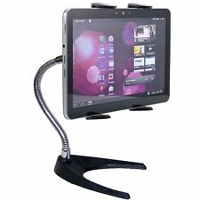 "10"" Gooseneck Tablet Bendable Table Stand Mount for Apple iPad Pro & Surface Pro"