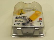 Nokya Headlight Set 2 Nok7617 Bulb Hyper Yellow Fog/Headlight H1 7617 55w