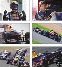 Mark Webber F1 Formula Legend POSTCARD Set