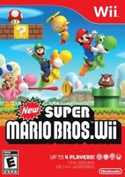 New Super Mario Bros. Wii - Nintendo  Wii Game