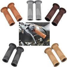 5 Colors 7/8'' 22mm Motor Retro Vintage Rubber Handlebar Hand Grip Universal Hot