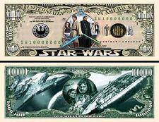 STAR  WARS  # 3 . Million Dollar USA . Billet de commémoration / Collection
