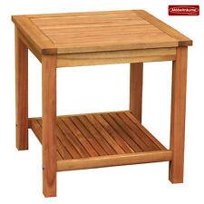 NEU Beistelltisch Bali Holztisch 50 x 50 x 50 cm Tisch Akazienholz Consul Garden