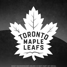 """Toronto Maple Leafs NHL Vinyl Decal Sticker - 4"""" and Larger - 30+ Color Options!"""