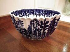 Blue Decorative British Coalport Porcelain & China