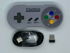 TribeRetro Wireless Controller with USB for Wireless Windows 10 Emulator Playing