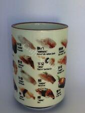 Japanese Porcelain Sushi Tea Cup Coffee Mug, Japanese Sushi Name Images