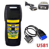 U581 Professional SUPER Diagnostic Scan Tool CAN OBD II OBD2 Live Code Scanner