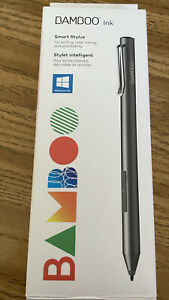 Bamboo Ink Smart Stylus 2nd Gen for Microsoft Surface/Windows Ink Gray