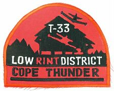 USAF 3rd TFW FIGHTER FIGHTER WING T-33A COPE THUNDER PATCH