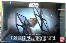 Star Wars First Order Special F. Tie Fighter Force Awakens, 1:72, Bandai 203219