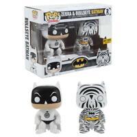 Funko Pop! Heroes Cebra & TIRO AL BLANCO Batman 2u. Exclusivo Vinilo Figuras