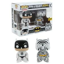 FUNKO POP HEROES ZEBRA & BULLSEYE BATMAN 2 PACK EXCLUSIVE VINYL FIGURES