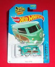Hot Wheels Hw Showroom - Light Blue Volkswagen Kool Kombi