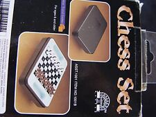 PORTABLE TRAVEL MINI CHESS SET