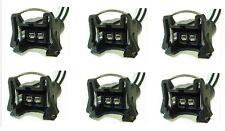 Set of 6 EV1 Fuel Injector Harness Pigtail Connector 85136 sensor
