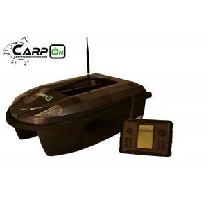 Futterboot CarpON Typ D mit integriertem Kompass Echolot Köderboot Baitboot GPS