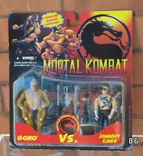 Muy raras Goro Vs Johnny Cage Hasbro mortal Kombat Figura No Gi Joe 1994 MOC