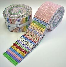 New listing Vintage 30s Reproduction Prints Jelly Roll. 40 strips. 2.5x44 inches 100% cotton