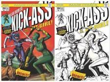 KICK-ASS #1 BTC WEBSITE  EXCLUSIVE COVER SET HULK#181 COVER SWIPE NM CONDITION!