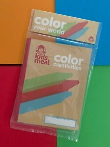 Color Creativities Wendy's Kids Meal Toy