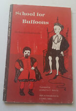 School for buffoons 1937 michel de ghelderode play kenneth s. white drama '68 pb