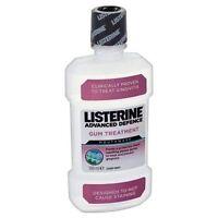 Listerine Advanced Defence Gum Treatment for Mouthwash - 500 ml