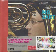 2 DVD Boîte la la Leçon de Musique de Jean-Francois Zygel ♦ Mozart 1954
