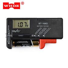 WHDZ BT-168D Universal Battery Checker Tester Button Cell Volt Tester Pointer