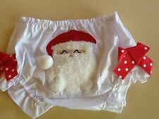 Baby Christmas Santa BLoomers 3-6 Mths, 6-12 Mths, 1-2 Years NEW au stock!