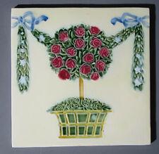 Möbel fliese -- GEORG SCHMIDER  - Jugendstil -- Blumenbaum -- Zell am Harmerbach