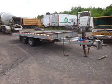 2004 American Tagalong Tilt Deck Trailer GALVANIZED NO RUST! Hydraulic Equipment