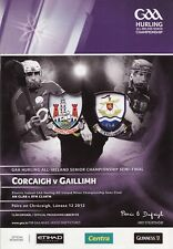 GAA 2012 - Galway v Cork - Senior Hurling Semi-Final Programme