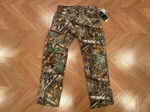Under Armour UA Storm Field Ops Realtree Camo Hunting Pants 32x32 1313212-991