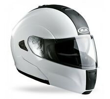 casco HELMET moto hjc IS MAX MODULARE BIANCO TG.S OFFERTISSIMA