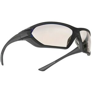 Bolle 40147 Matte Black Assault ESP Polycarbonate AS/AF Lenses Safety Glasses