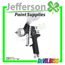Devilbiss GTI PRO Black with both 1.3mm & 1.4mm Tips T110 Aircap - Spray Gun