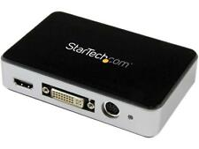 StarTech.com USB 3.0 Video Capture Device - HDMI / DVI / VGA / Component HD Vide