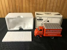 Vintage Cabover 1952 GMC Box Truck Dry Good Van Coles Express First Gear 1/34