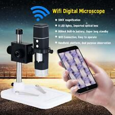Digital WiFi Wireless 500X 2MP Camera Microscope Magnifier USB for Android IOS