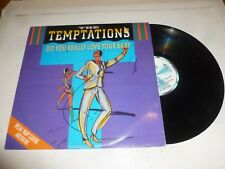 "THE TEMPTATIONS - Do You Really Love Your Baby - 1985 UK 4-track 12"" Single"