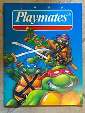 Playmates 1990 Toy Catalog TMNT Ninja Turtles  Barnyard Commandos Dick Tracy