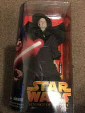 "Star Wars 12"" Darth Sidious Action Figure Emperor 12"" Revenge of the Sith 2005"