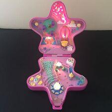 Retro Vintage 1993 Polly Pocket Pink Light up Fairy Wonderland Star Bluebird