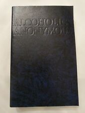 ALCOHOLICS ANONYMOUS Book AA 4th Edition Recover Alcoholism Self Help Guide