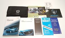 2015 MAZDA6 OWNERS MANUAL USER GUID I S SPORT TOURING GRAND VE V4 2.5L V6 3.7L