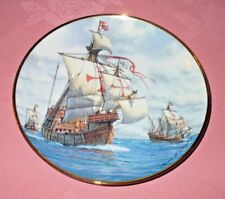 Vintage The First Voyage Limited Edition Plate - American Geographic Society