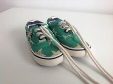 NEXT Infant boys size 5 Green Lace Up pumps With Stars