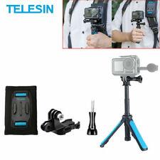 Telesin Mini Tripod Selfie stick Quick Release Accessories For gopro Hero 8 7 6