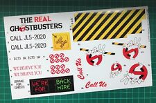 Ghostbusters Ecto-1a custom vintage decals/stickers die cut best quality Ecto 1a